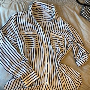 Express striped portofino shirt